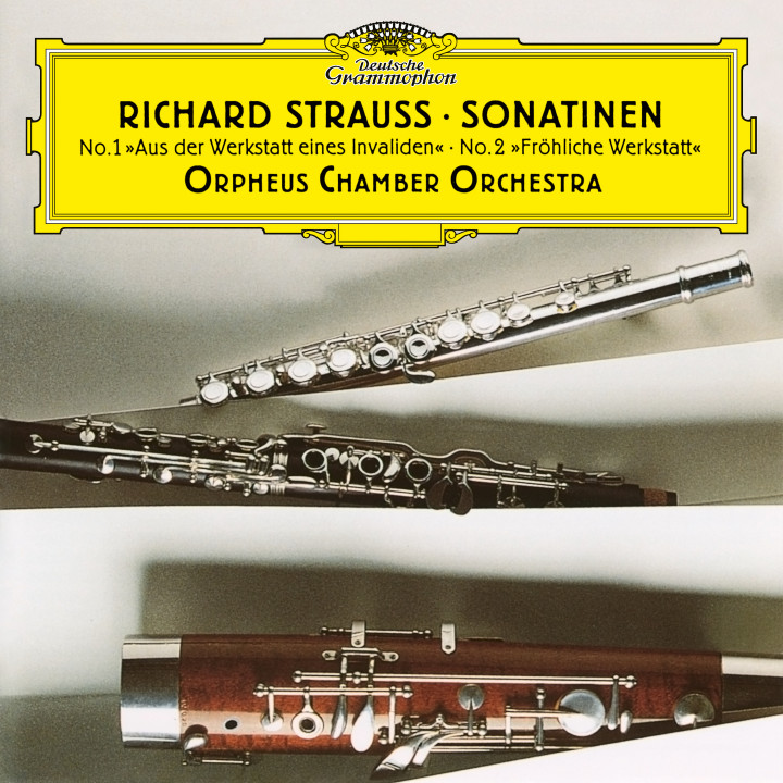 Orpheus Chamber Orchestra - R. Strauss: Wind Sonatinas eAlbum Cover