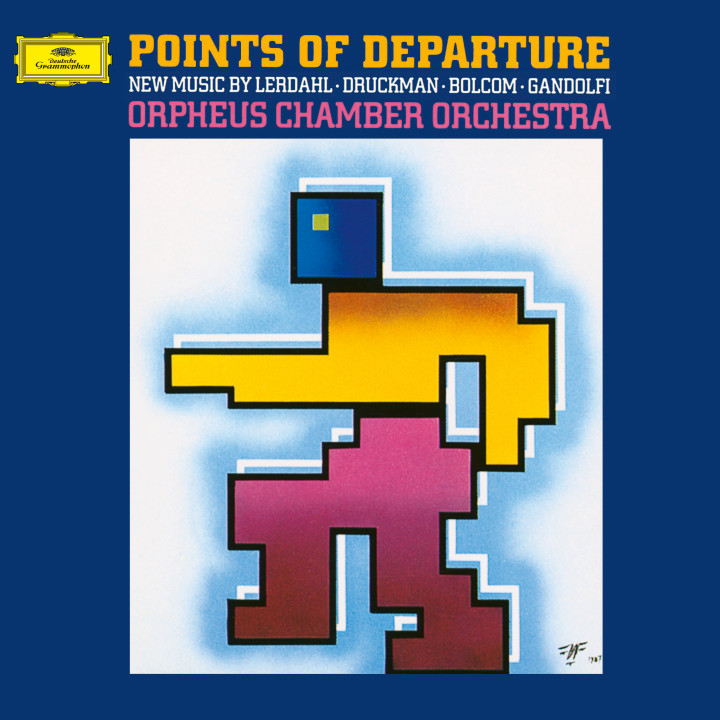 Orpheus Chamber Orchestra - Points of Departure eAlbum Cover