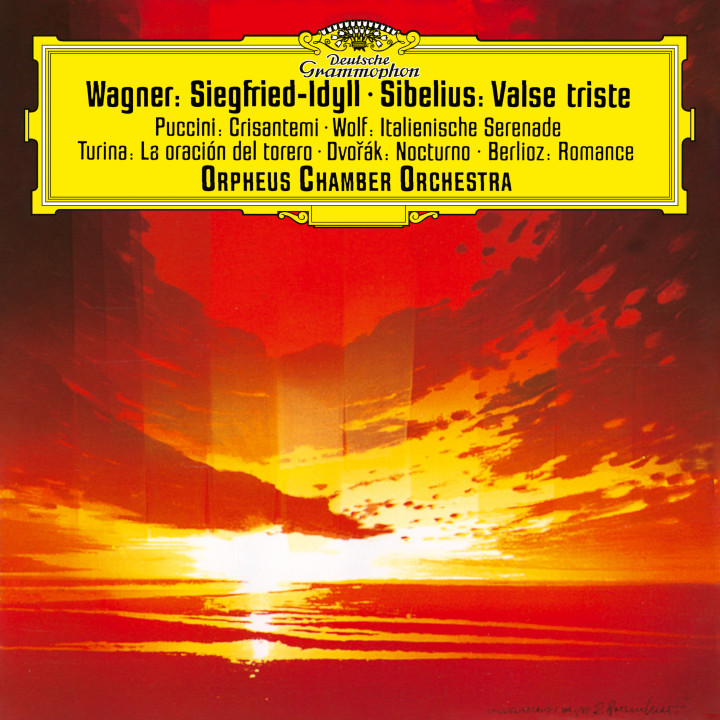 Orpheus Chamber Orchestra - Wagner: Siegfried Idyll eAlbum Cover