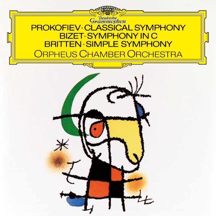 Orpheus Chamber Orchestra - Prokofiev Classical Symphony eAlbum Cover