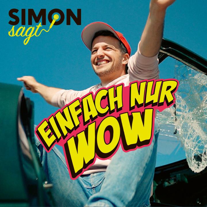 Simon sagt Einfach nur wow! Single Cover