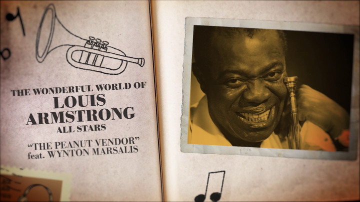 The Wonderful World of Louis Armstrong Allstars - The Peanut Vendor (Visualizer)