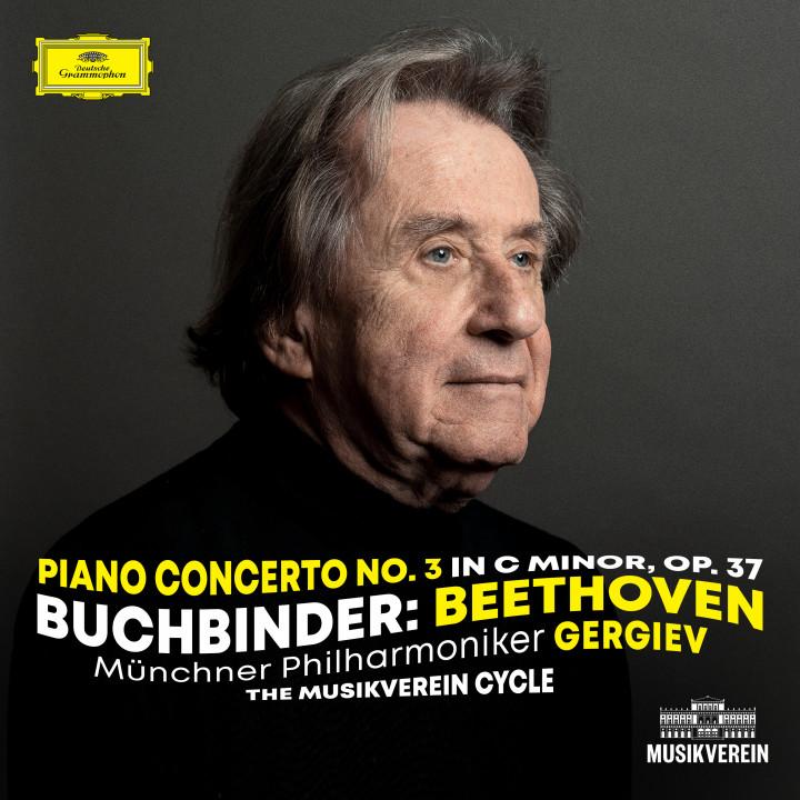 Buchbinder - Beethoven: Piano Concerto No. 3 in C Minor, Op. 37 eAlbum Cover