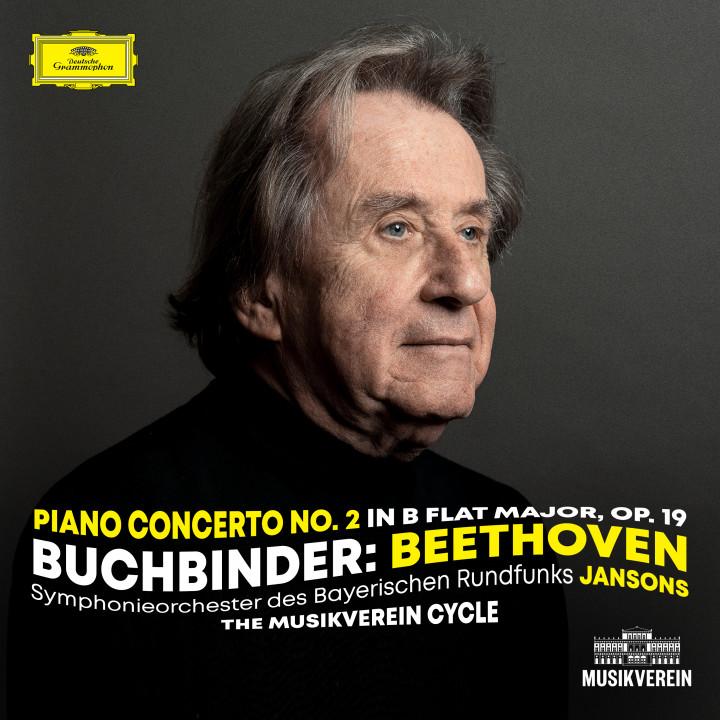 Buchbinder - Beethoven: Piano Concerto No. 2 in B-Flat Major, Op. 19 eAlbum Cover