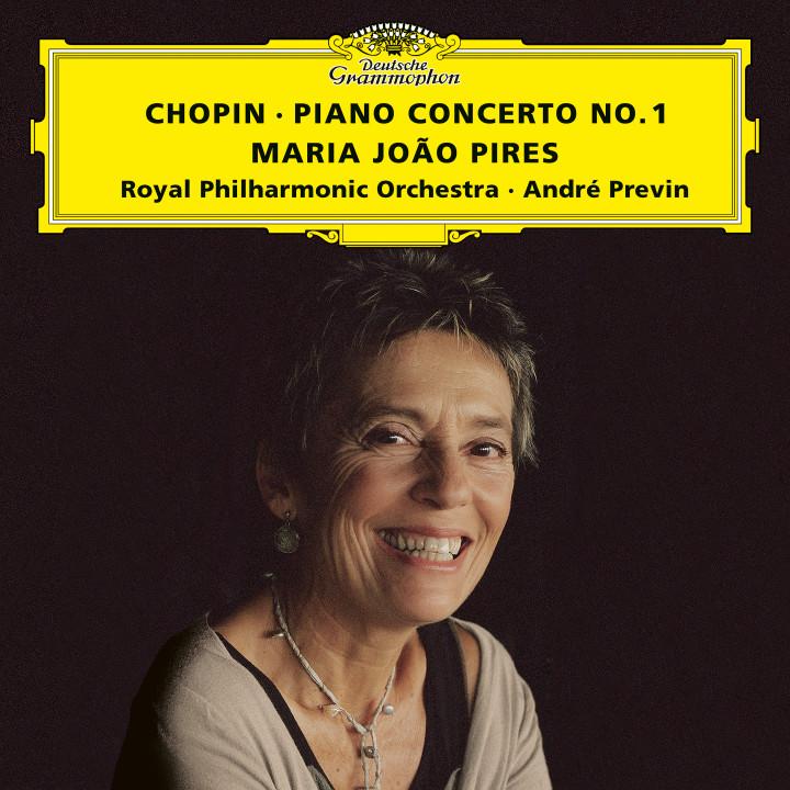 Maria João Pires - Chopin: Piano Concerto No. 1 eAlbum Cover