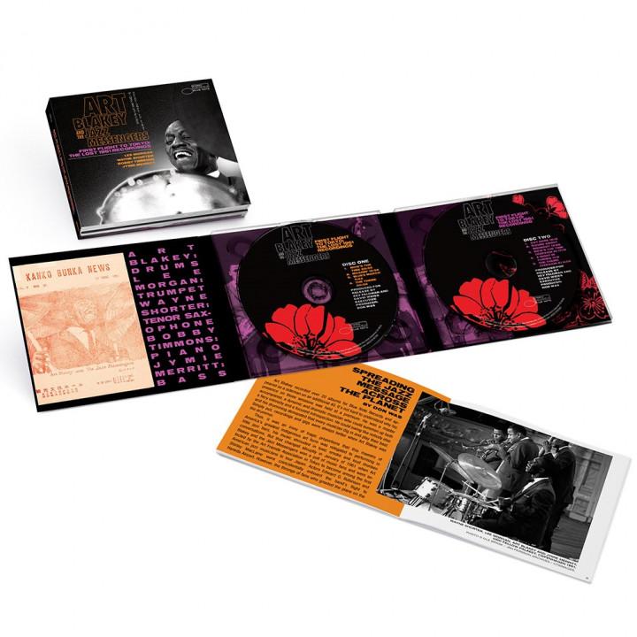 Art Blakey & The Jazz MessengersFirst Flight To Tokyo: The Lost 1961 Recordings (2-CD)