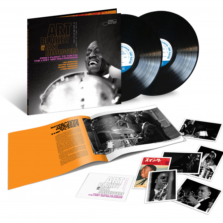 Art Blakey - First Flight To Tokyo: The Lost 1961 Recordings (2-LP)