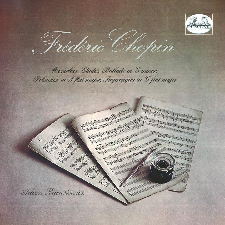 Harasiewicz plays Chopin Cover