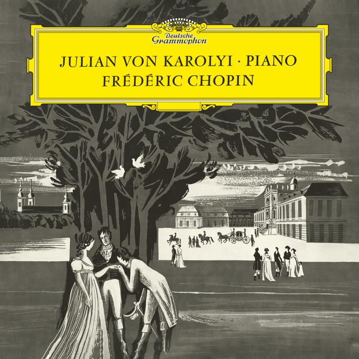 Karolyi - Chopin: Klaviersonate No.3 op. 58 / Bolero C-dur op. 19 / Mazurka No.13 op. 17 Nr. 4 / Walzer No.14 op. posth. / Andante spianato und Große Polonaise Es-dur op. 22 Cover
