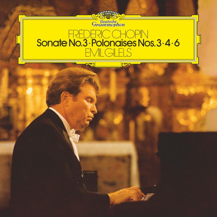 Gilels - Chopin: Sonate No. 3 / Polonaises Nos. 3 / 4 & 6 Cover