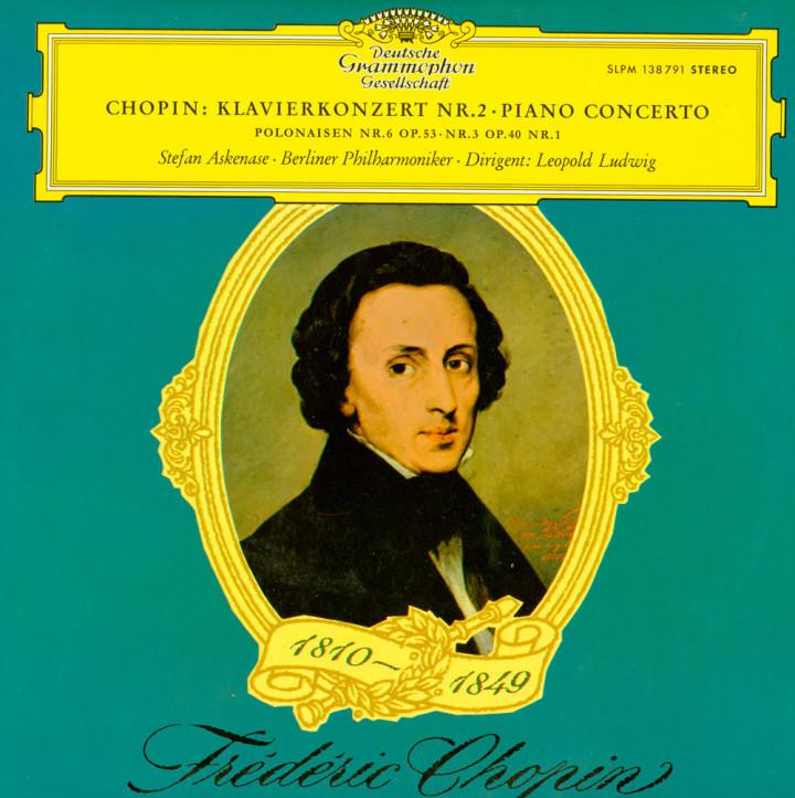 Askenase - Chopin: Konzert für Klavier und Orchester Nr.2 f-moll op.21 / Polonaisen Nr.6 op.53 & Nr. 3 op. 40 Nr.1