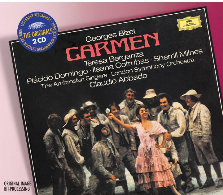 BIZET Carmen / Berganza, Abbado Cover