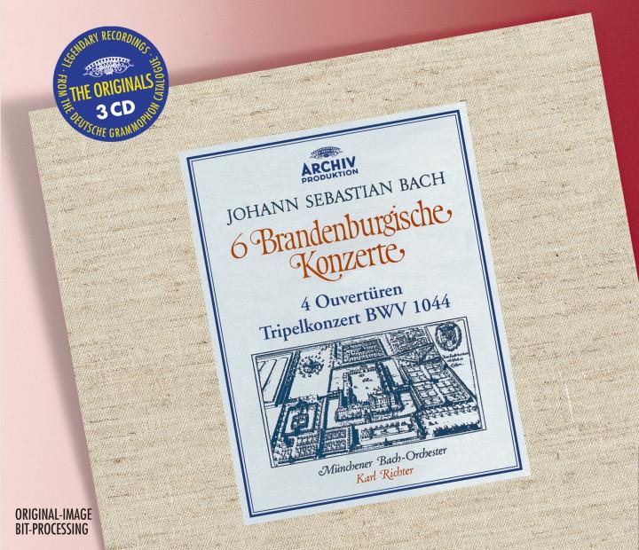 BACH 6 Brandenburg Concertos / Richter Cover