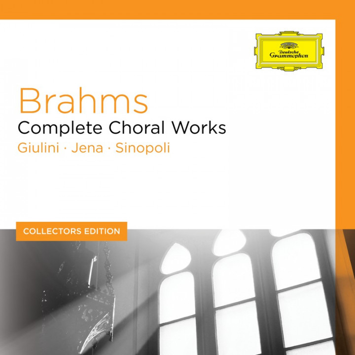 BRAHMS Complete Choral Works Cover