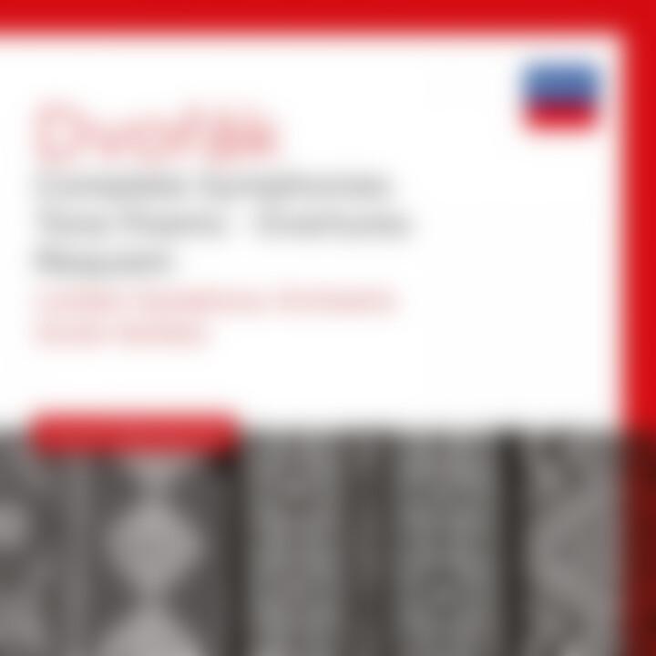 DVOŘÁK Complete Symphonies / Kertész Cover