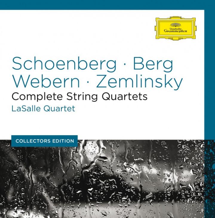 SCHOENBERG BERG WEBERN ZEMLINSKY String Quartets Cover