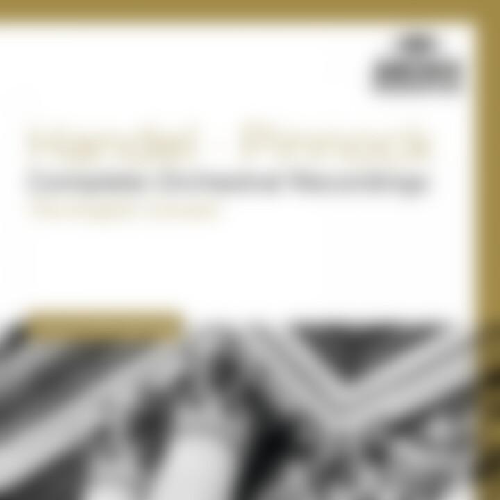 HANDEL Complete Orchestral Recordings / Pinnock