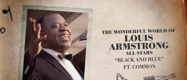 The Wonderful World of Louis Armstrong All Stars - Black and Blue (Visualizer)