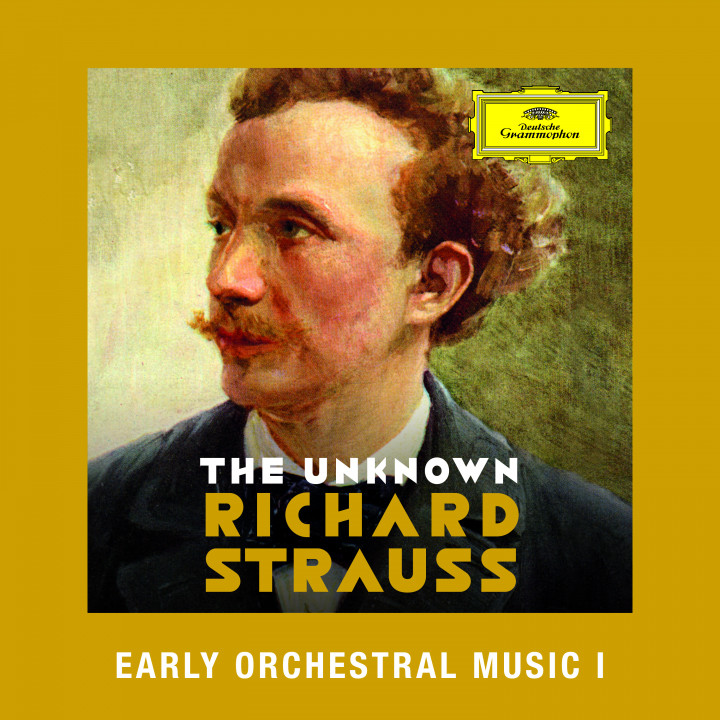 R. Strauss - Early Orchestral Music I Cover