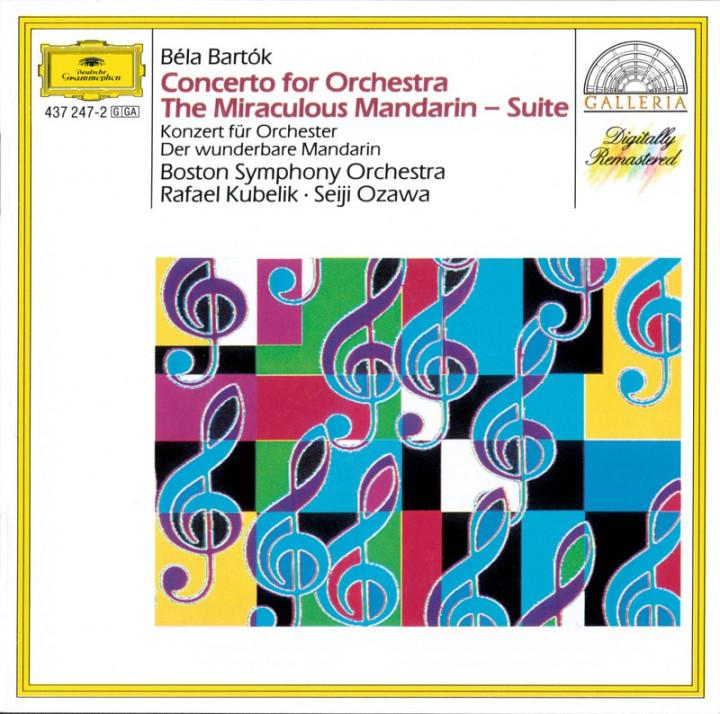 BARTÓK Konzert für Orchester etc. Ozawa Cover