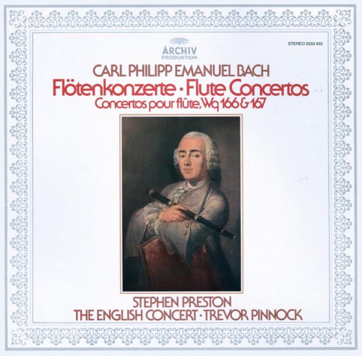 C.P.E. BACH Flute Concertos Pinnock