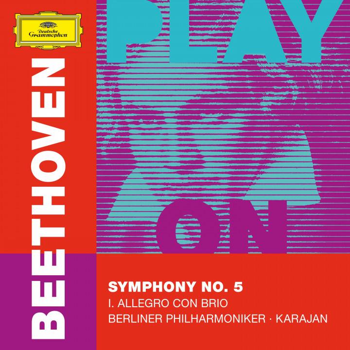 BEETHOVEN Symphony No. 5 – I. Allegro / Karajan Cover