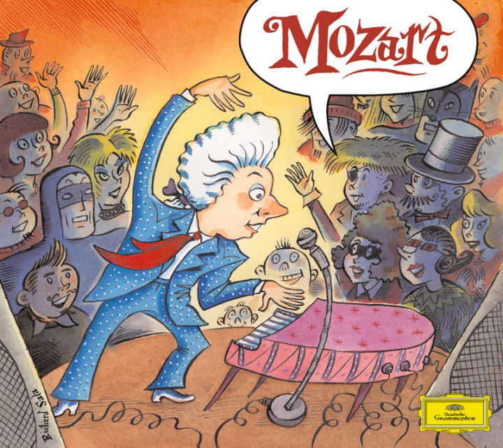 Classical Bytes Mozart Cover