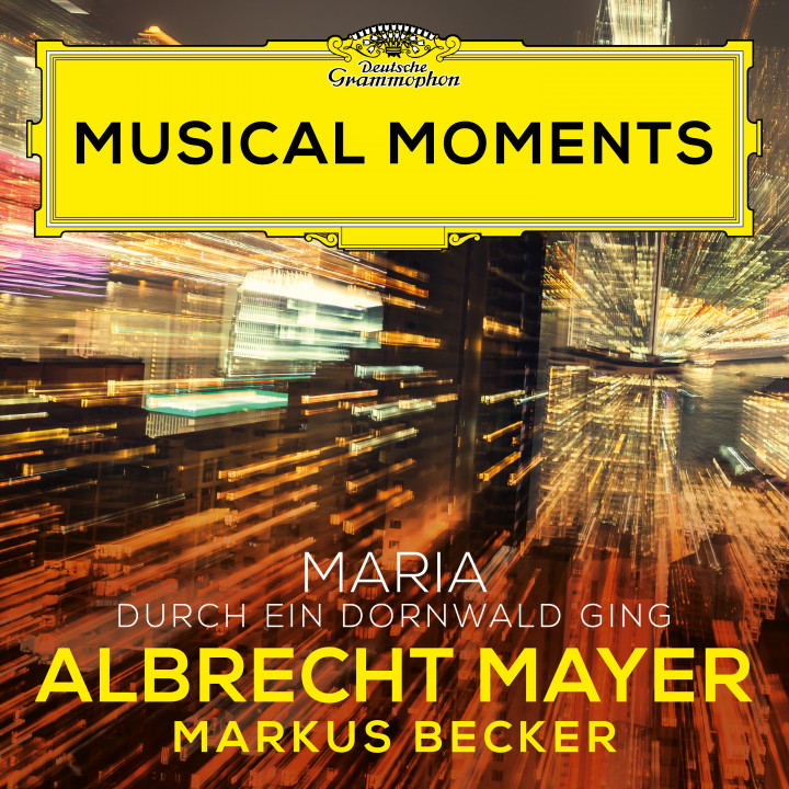 Albrecht Mayer - Traditional: Maria durch ein Dornwald ging (Arr. Spindler for Oboe and Piano with an Improvisation by Becker) Musical Moments Cover