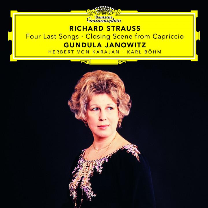 Janowitz - Strauss: Vier letzte Lieder, TrV 296, Capriccio, Op. 85, TrV 279 cover