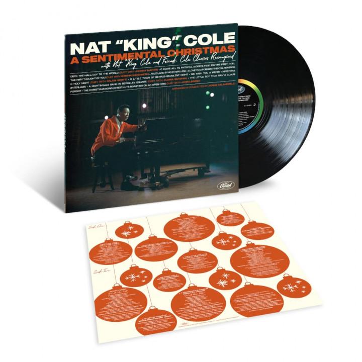 A Sentimental Christmas With Nat King Cole (LP Packshot)