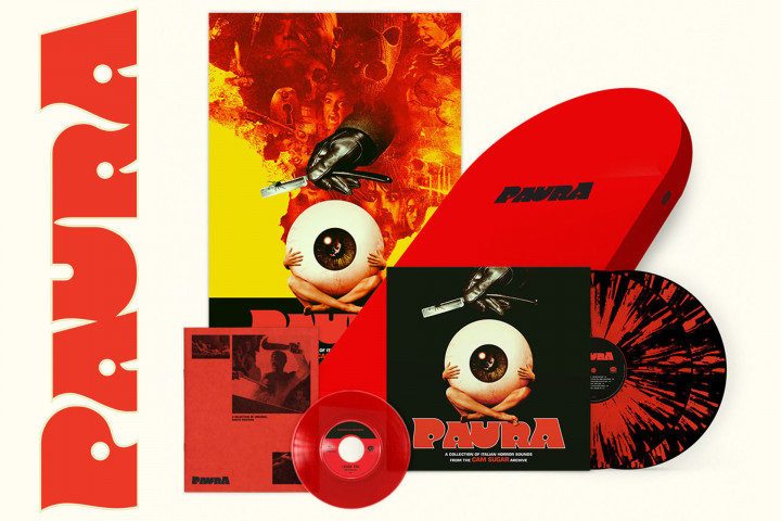 Paura - A Collection Of Italian Horror Sounds: Exclusive Limited Tombstone Deluxe-Box