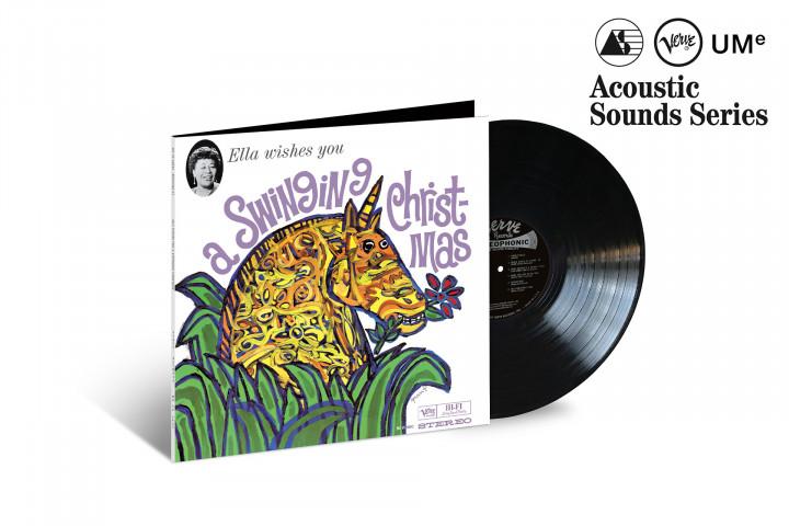 "JazzEcho-Plattenteller: Ella Fitzgerald ""Ella Wishes You A Swinging Christmas"" (Verve Acoustic Sounds Series)"