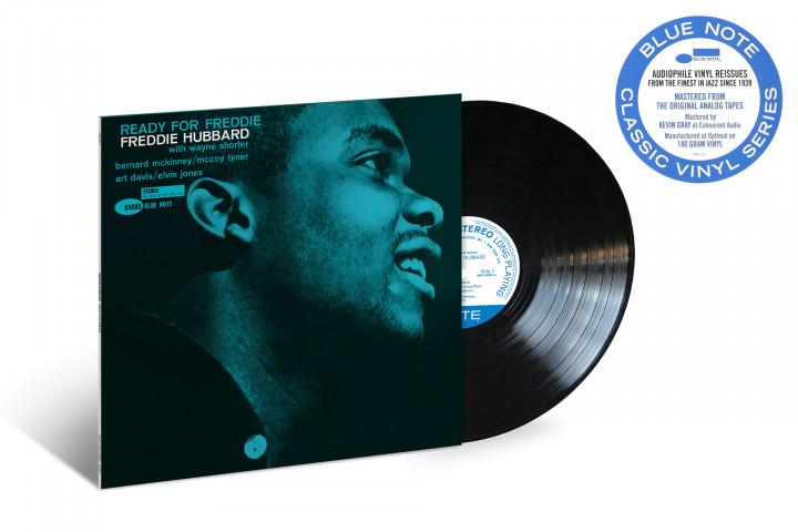 "JazzEcho-Plattenteller: Freddie Hubbard ""Ready For Freddie"" (Blue Note Classic Vinyl Series)"