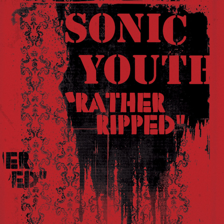 Sonic Youth - Rather Ripped Cover