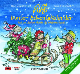 Rolf Zuckowski, Rolfs bunter Adventskalender, 00602498543115
