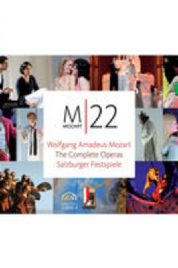 MOZART 22 - The Complete Operas - Salzburger Festspiele 2006