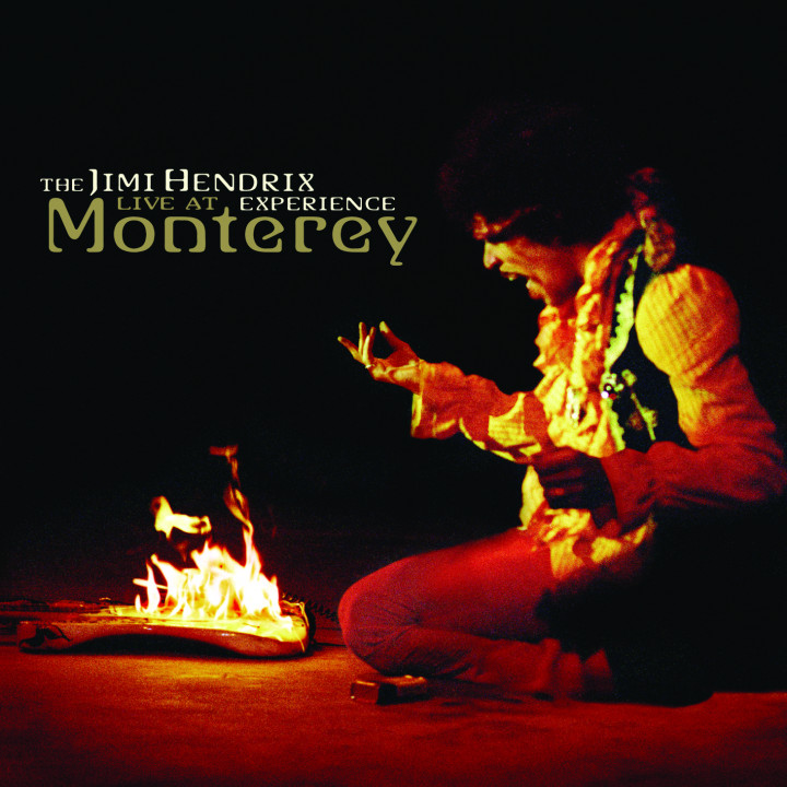 jimi hendrix live at monterey cd cover 2007