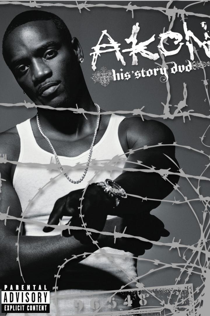 Akon - His Story DVD Cover