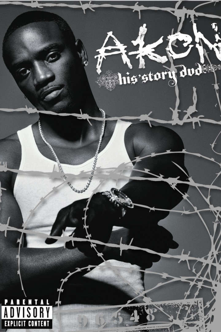 Akon - His Story DVD Cover