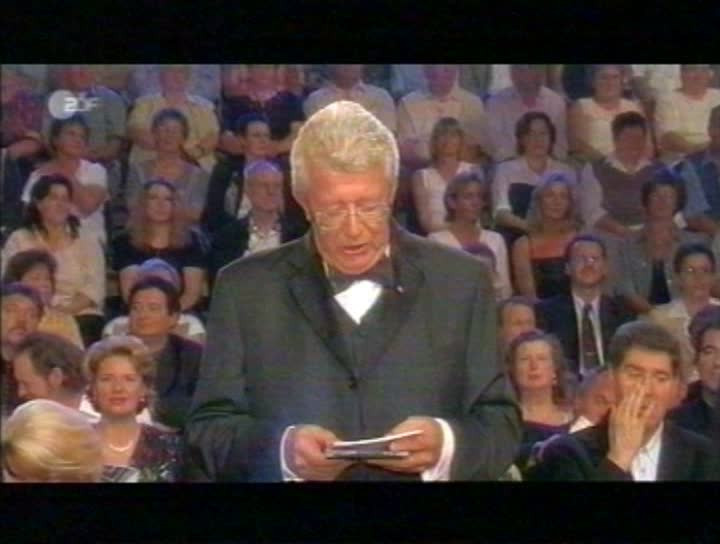 "TV-Auftritt ""Goldene Stimmgabel 2003"""