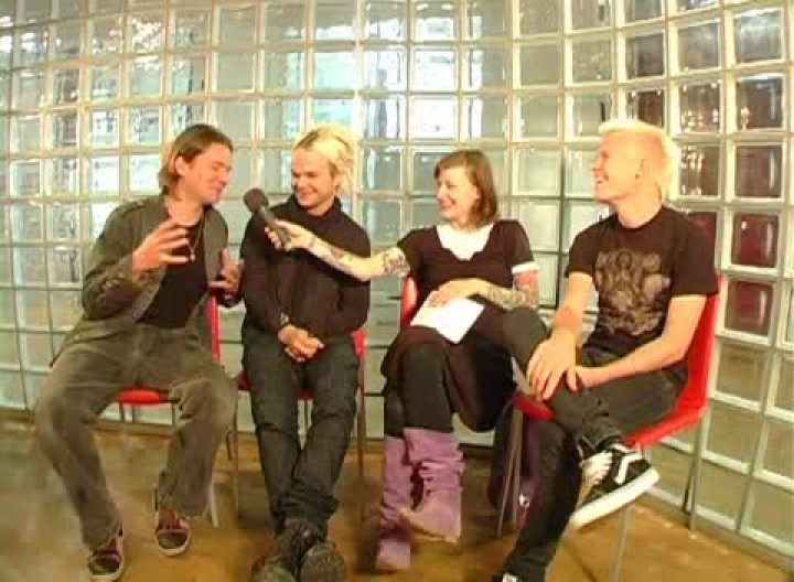 Das komplette Vertigo TV Interview mit The Rasmus