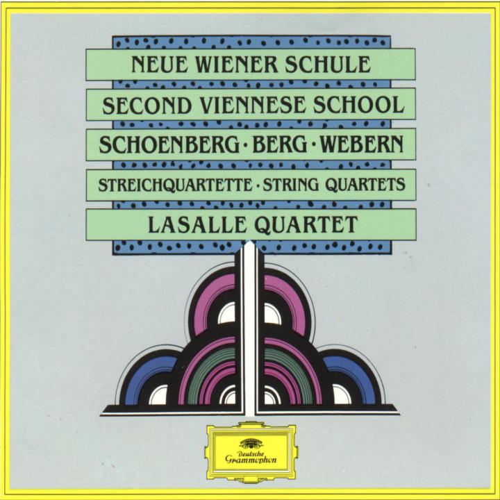LaSalle Quartet - Neue Wiener Schule 0028941999427