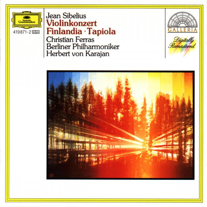 Sibelius: Violin Concerto; Finlandia; Tapiola 0028941987123