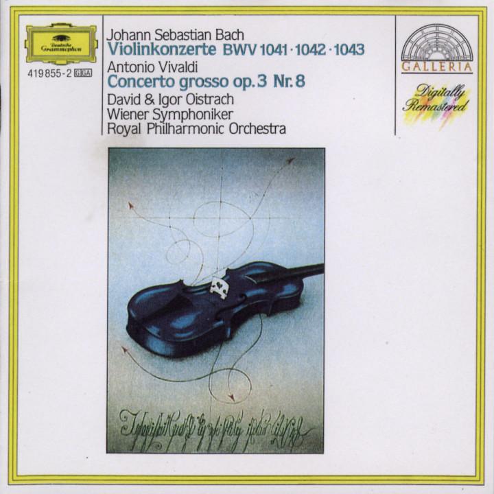Violinkonzerte BWV 1041; 1042; 1043 0028941985523