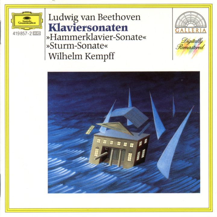 "Klaviersonaten d-moll op. 31 ""Sturm-Sonate"" & B-dur op. 106 ""Hammerklavier"" 0028941985729"