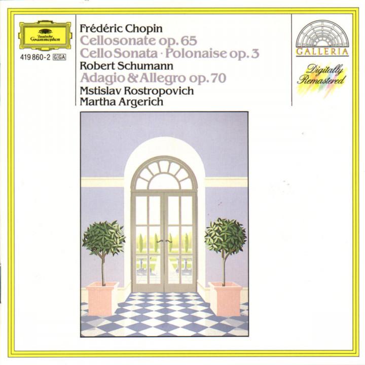 Chopin: Sonata; Polonaise / Schumann: Adagio and Allegro 0028941986029