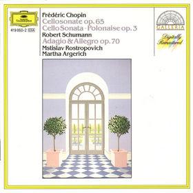 Frédéric Chopin, Chopin: Sonata, Polonaise / Schumann: Adagio and Allegro, 00028941986023