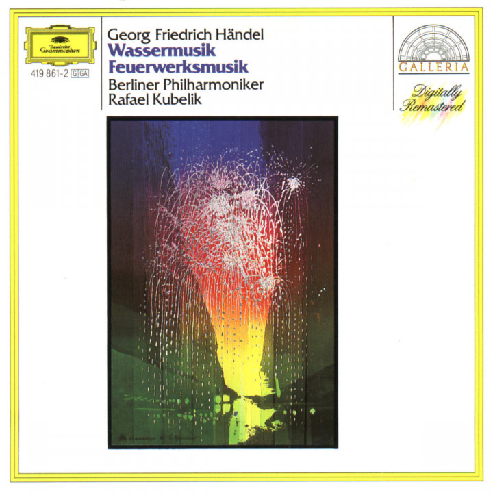 Händel: Water Music; Music for the Royal Fireworks 0028941986122