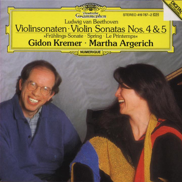 """Beethoven: Violin Sonatas Nos.4 & 5 """"Spring"""" 0028941978729"""