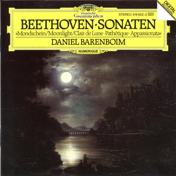 "Klaviersonaten Nr. 8 c-moll ""Pathétique""; Nr. 14 cis-moll ""Mondschein""; Nr. 23 f-moll ""Appassionata"" 0028941960223"